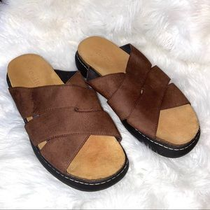 Men's Cole Haan Country Sandals Brown Size 9.5